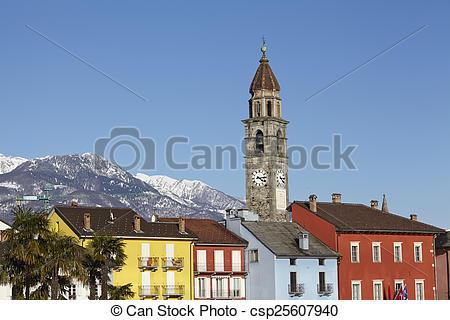 Stock Photo of Ascona.
