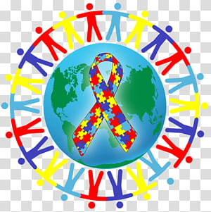 World Autism Awareness Day PNG clipart images free download.