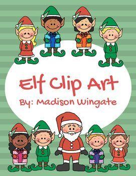 Elf Clip Art.