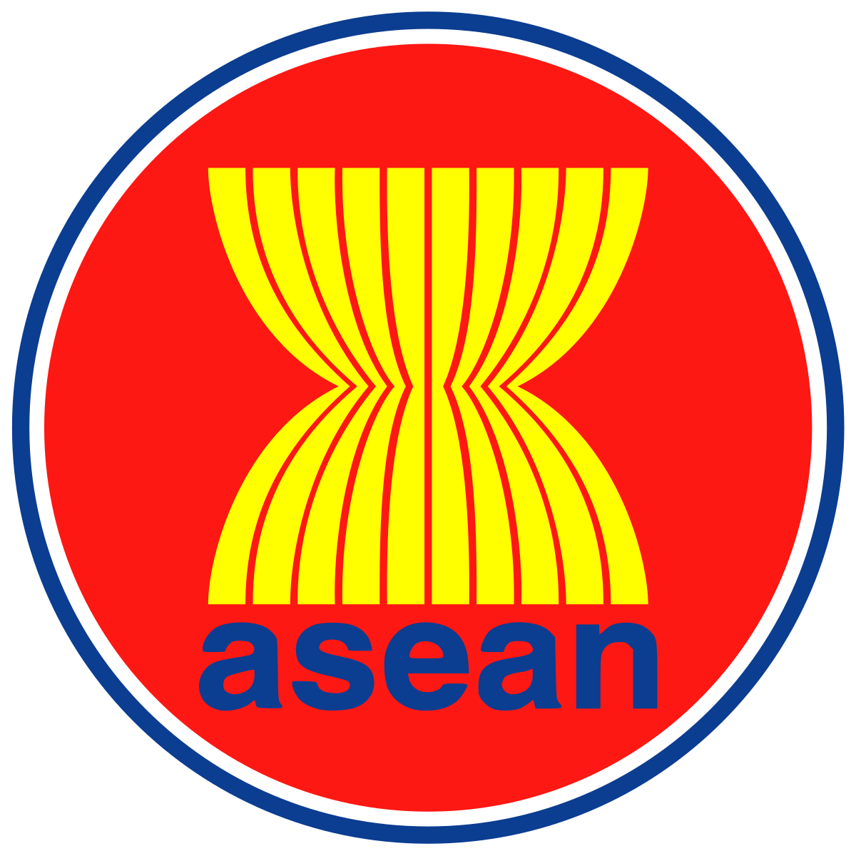 Emblem of the Association of Southeast Asian Nations.