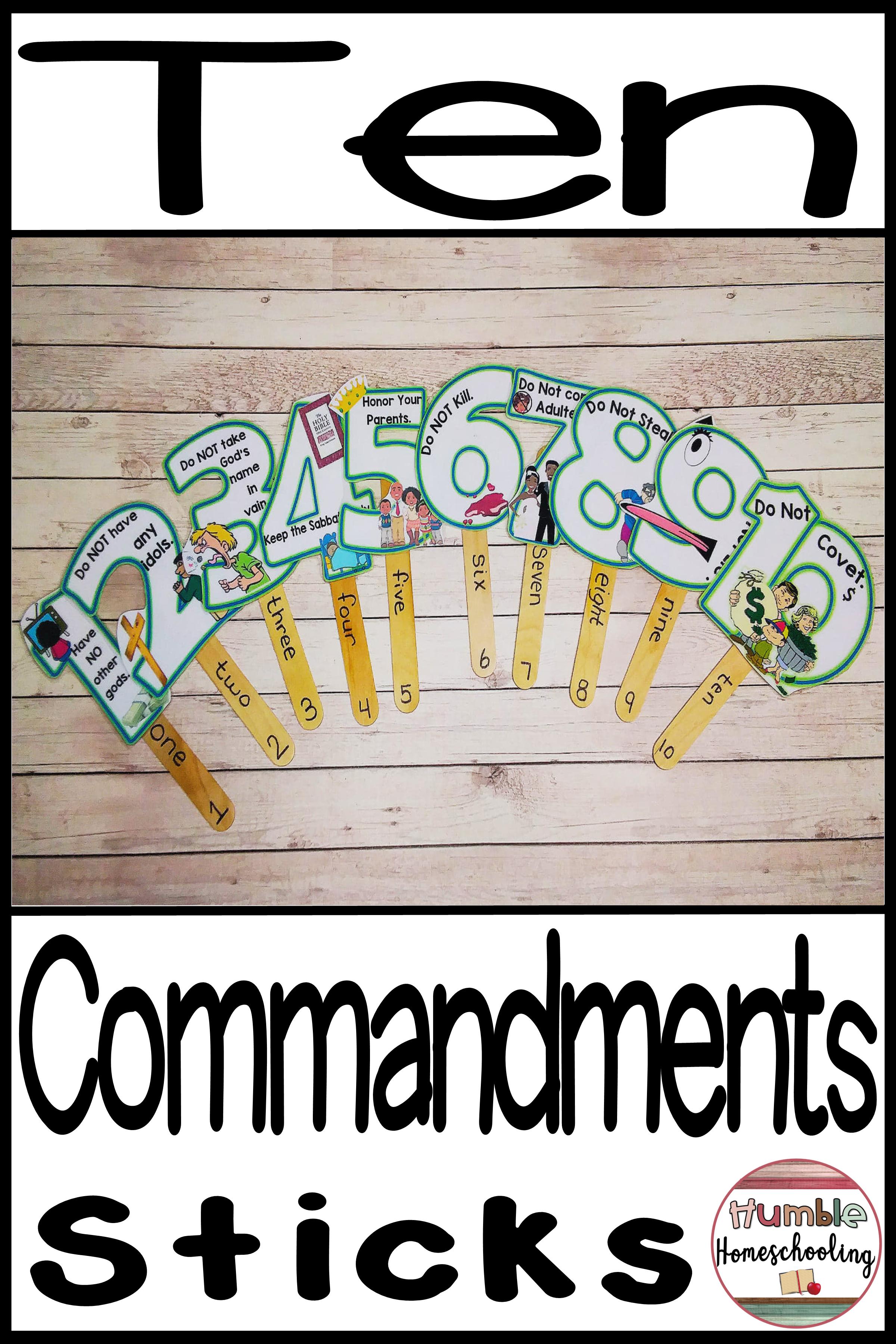 The 10 Commandments.