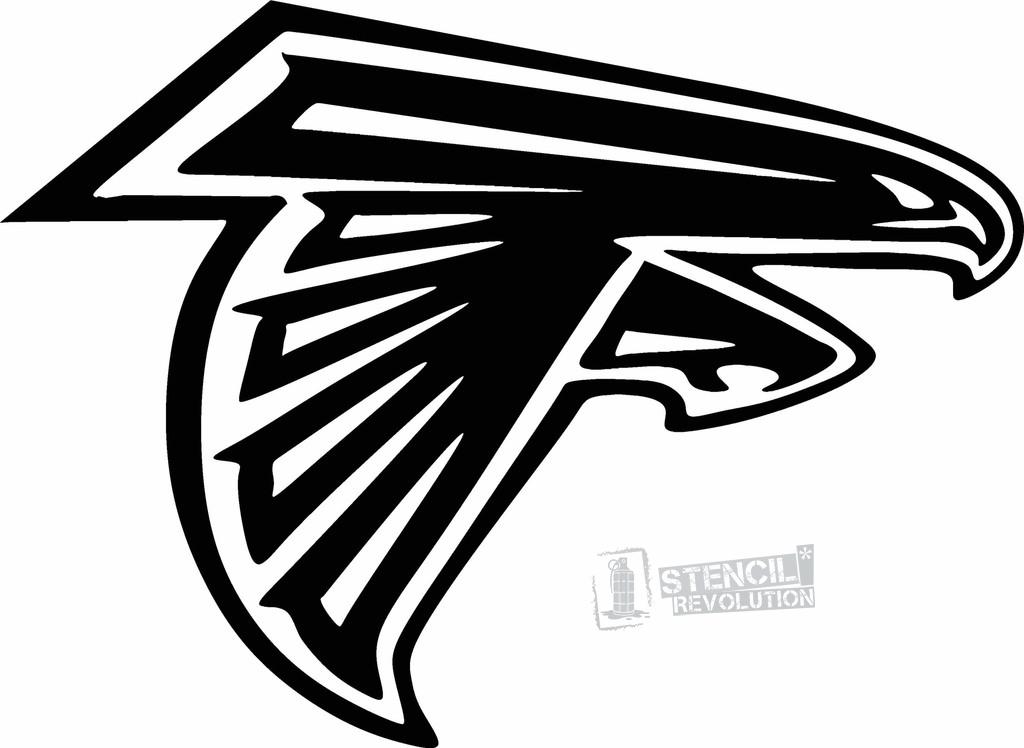 Atlanta Falcons Logo Stencil Related Keywords & Suggestions.
