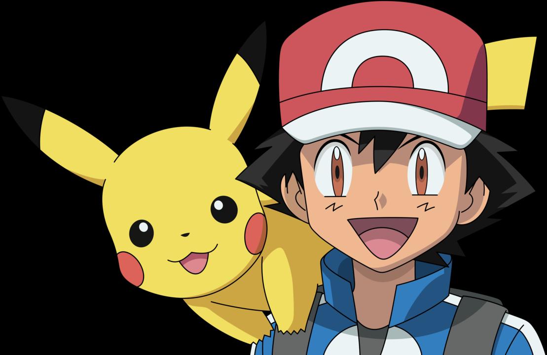 Ash And Pikachu By Dashiesparkle Pokemon Png.