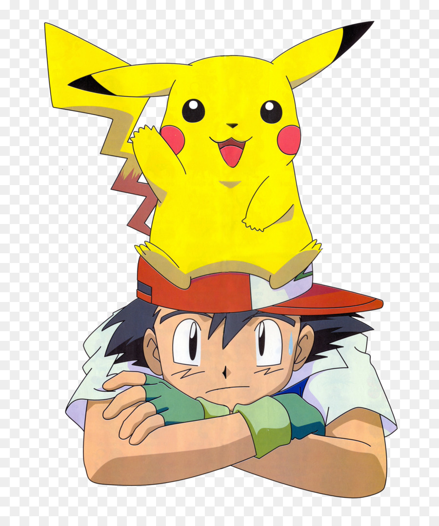 Ash And Pikachu clipart.