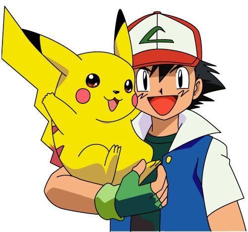 Pokemon Pikachu.