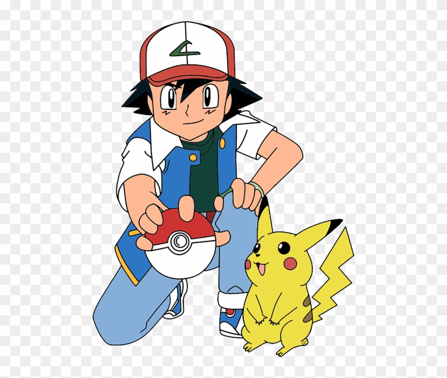 Clipart Ash Drawing Cartoon.