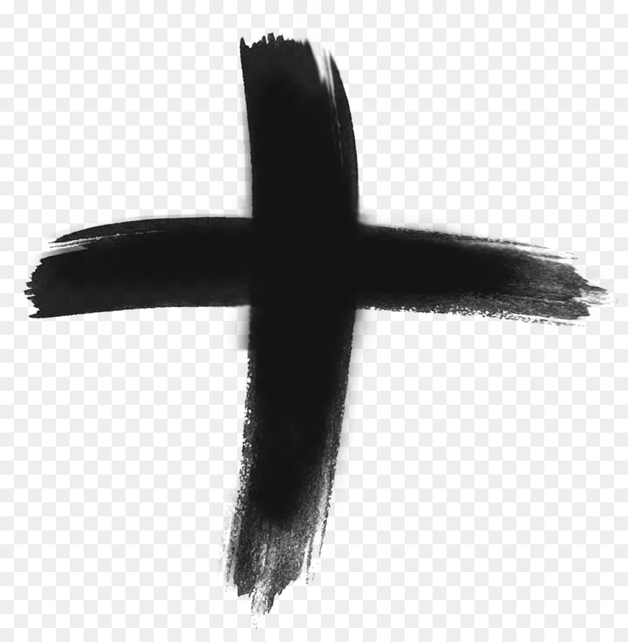 Ash Wednesday Cross clipart.