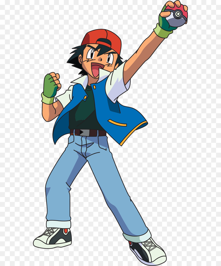 Ash And Pikachu png download.