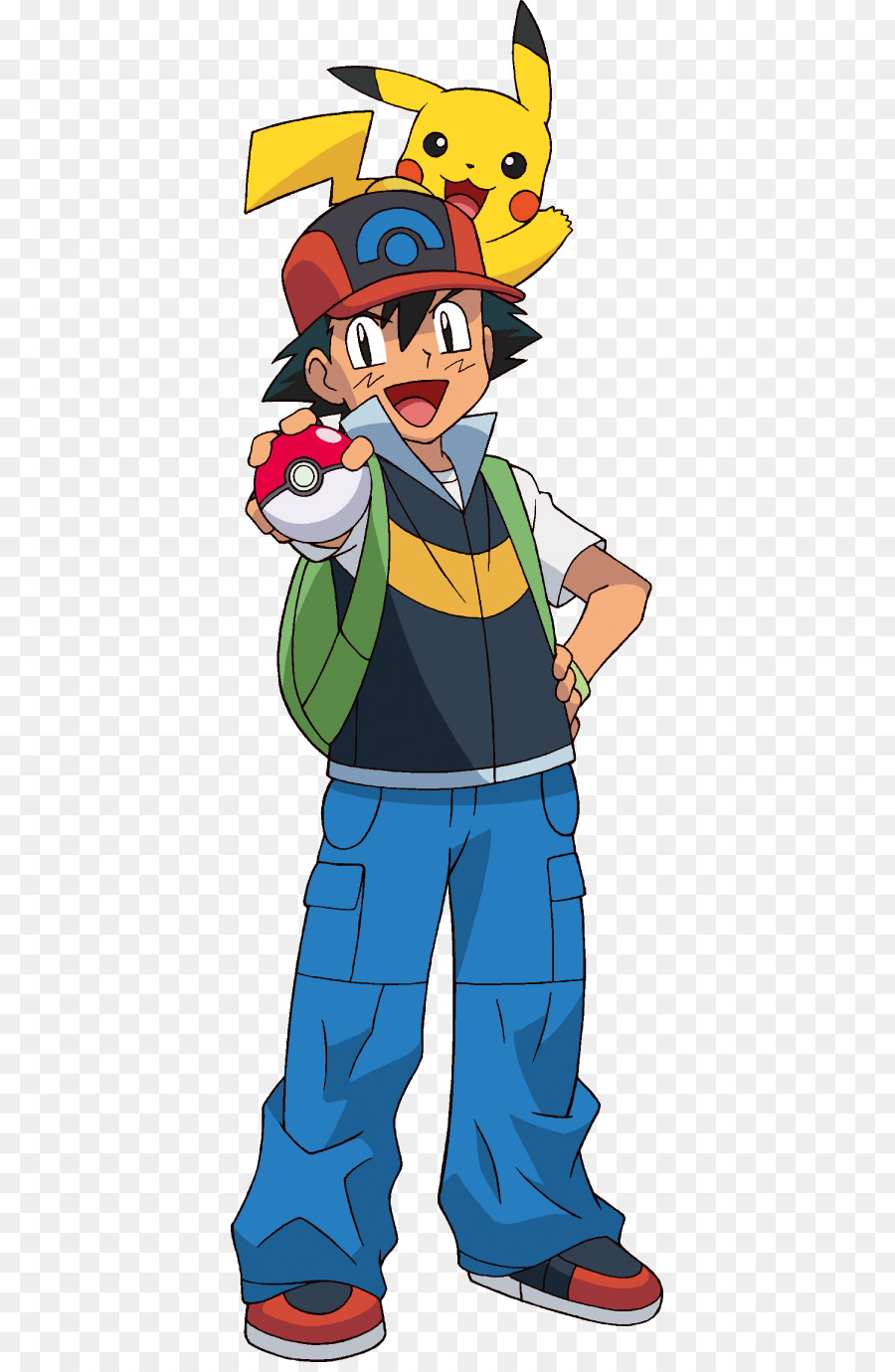 Download Free png Ash Ketchum Pikachu Pokémon Diamond and Pearl.