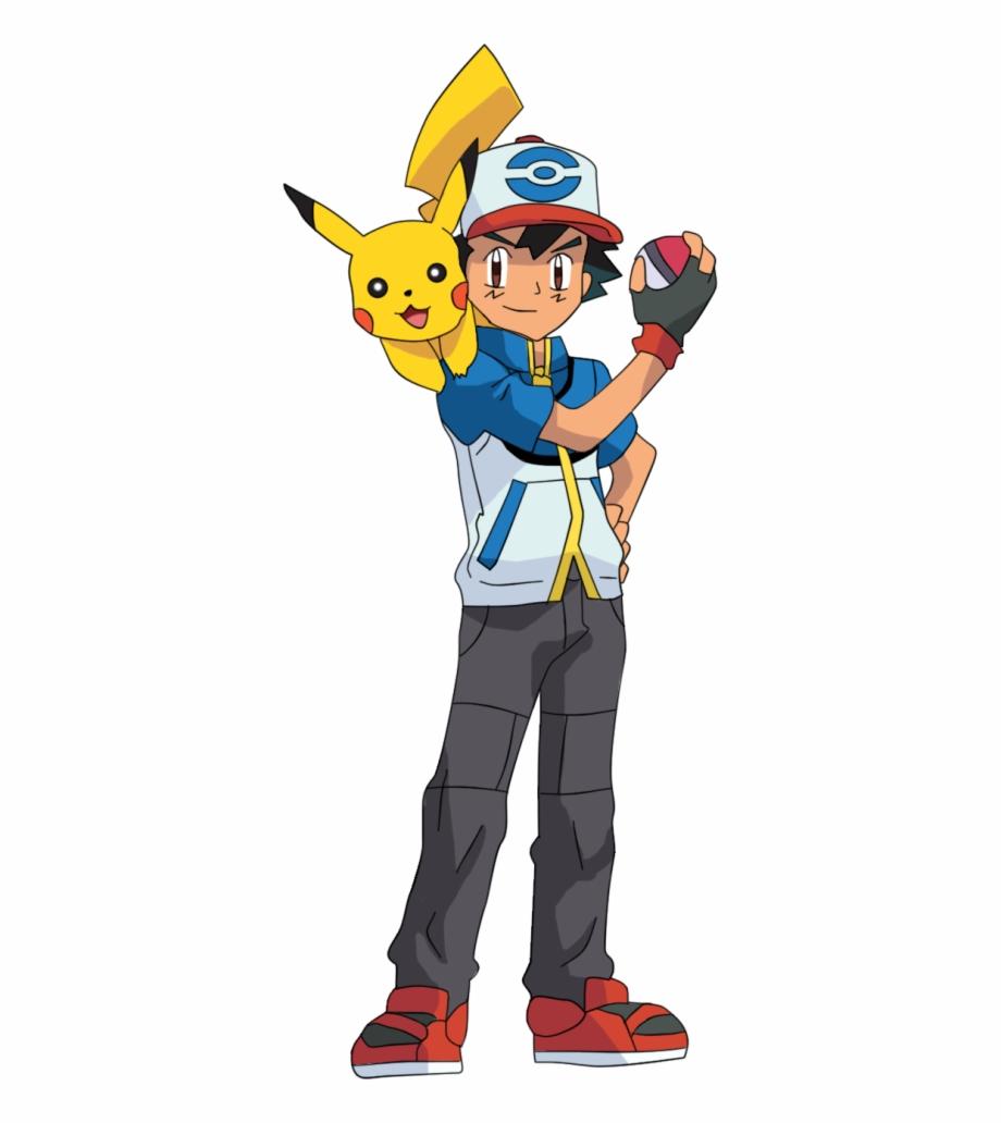 Pokemon Ash Png Clipart.