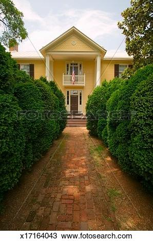 Stock Photo of 'Ash Lawn.