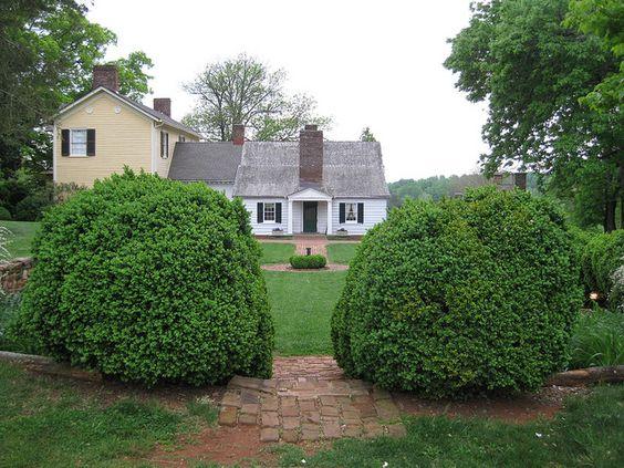 Ash Lawn home of President James Monroe.