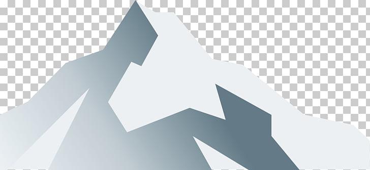 Logo Brand Triangle, Ash iceberg PNG clipart.