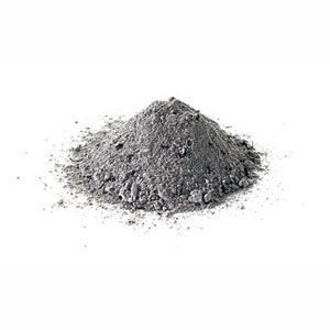 pile of ashes.