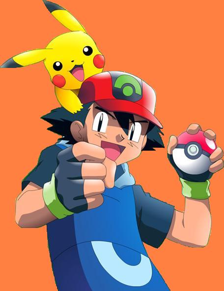 Download Pokemon Ash Transparent HQ PNG Image.