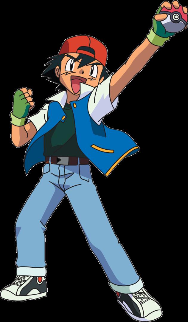 Download Pokemon Ash PNG Image 309.