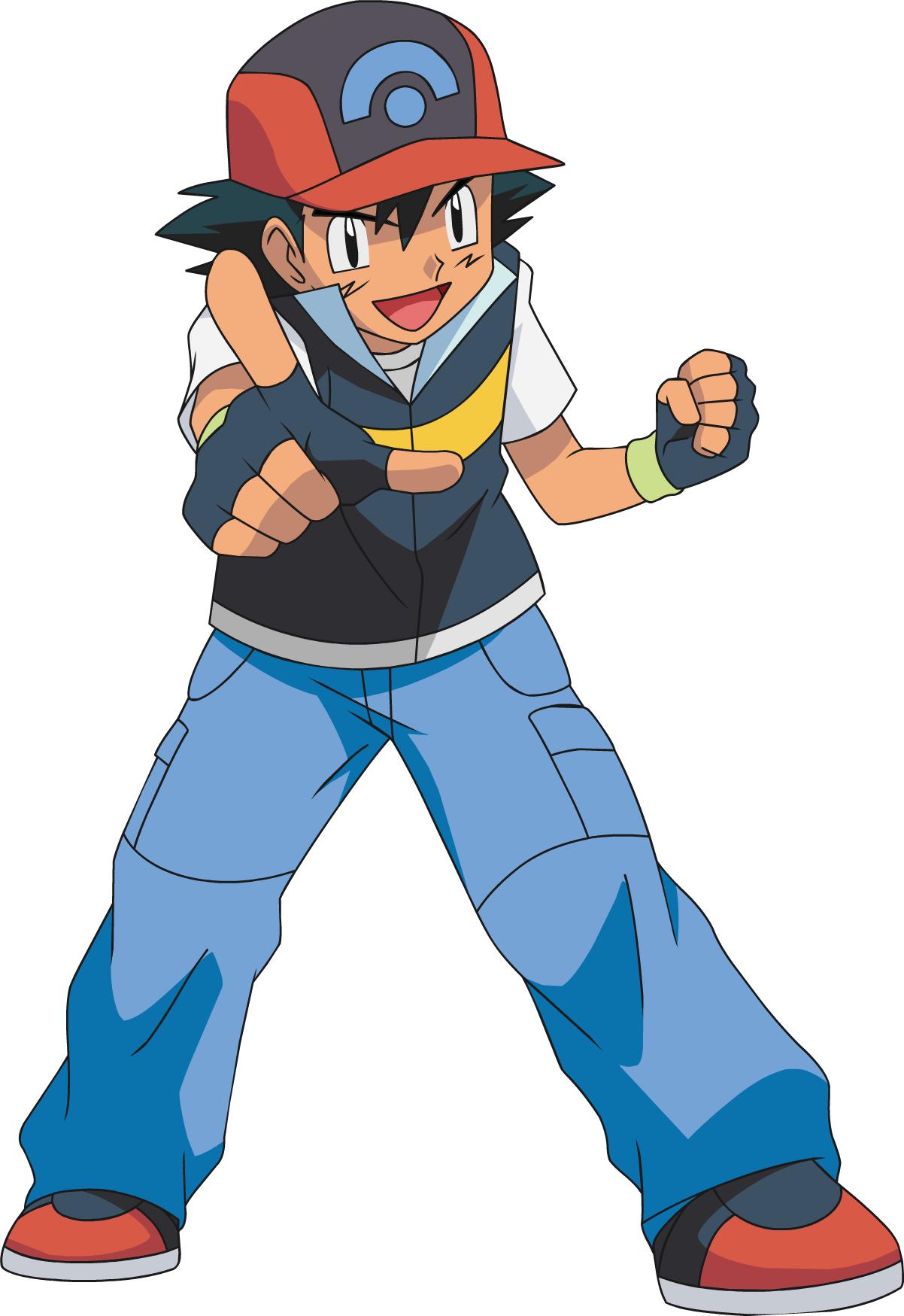 Download Pokemon Ash PNG Transparent Image For Designing Projects.