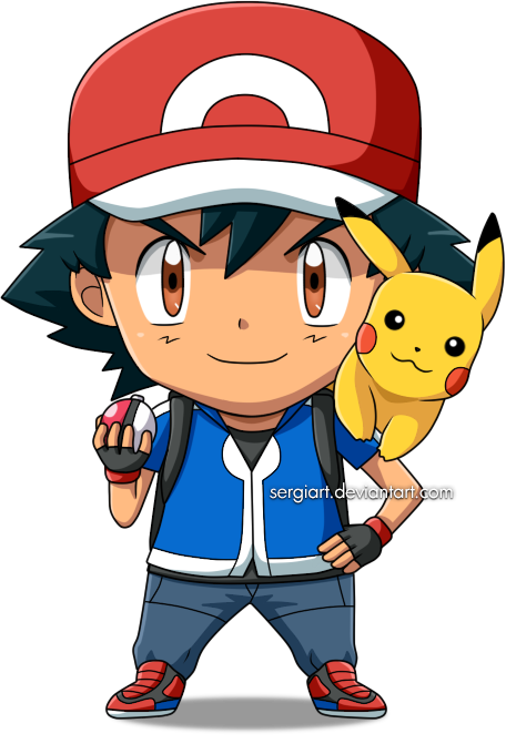 Pokemon Ash PNG Free Download.