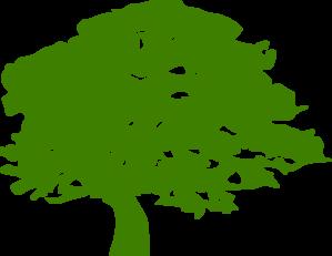Nat S Green Tree Clip Art at Clker.com.