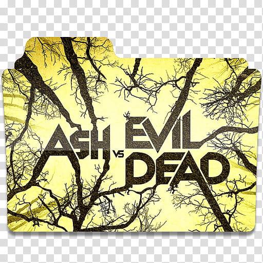 Ash vs Evil Dead Icon Folder , cover transparent background.