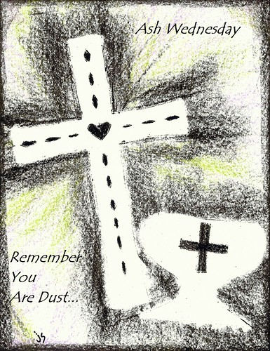 Ash Wednesday Bulletin Cover.