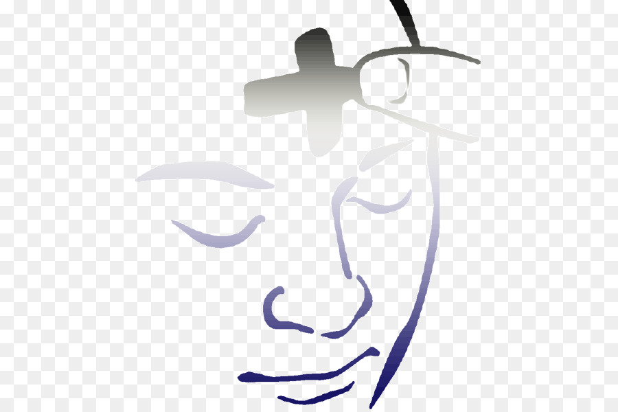 Ash Wednesday Cross.