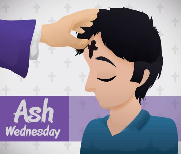 Ash Wednesday Illustrations, Royalty.