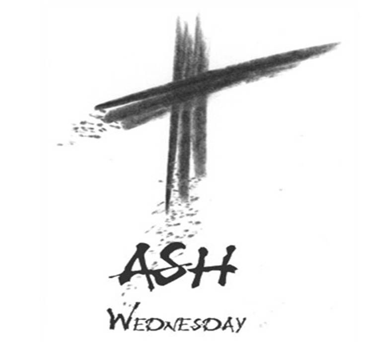 Ash Wednesday Clipart.