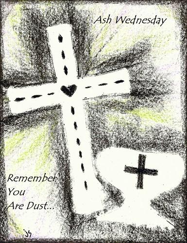 Ash Wednesday Bulletin Cover.