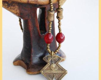 Ashanti beads.