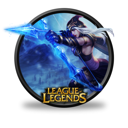 League Of Legends Ashe Icon, PNG ClipArt Image.