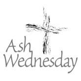 ash wednesday cross clip art.