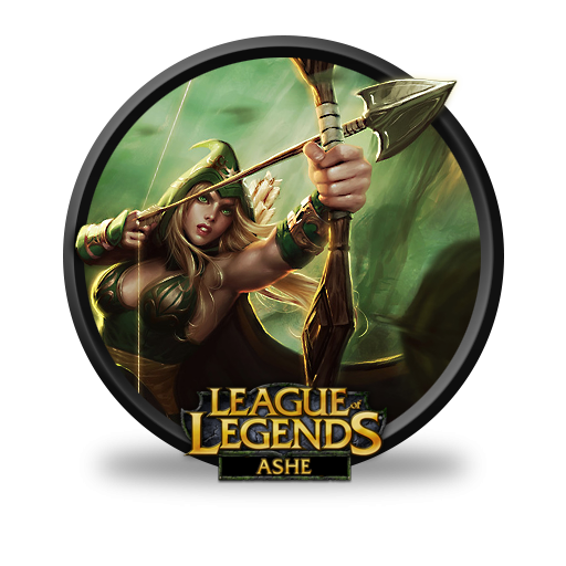 League Of Legends Ashe Sherwood Forest Icon, PNG ClipArt Image.