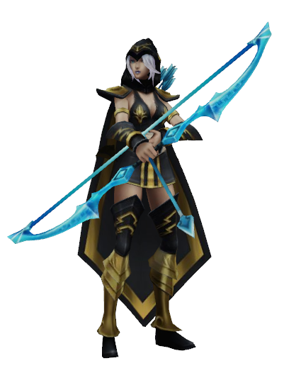 Ashe lol png 2 » PNG Image.
