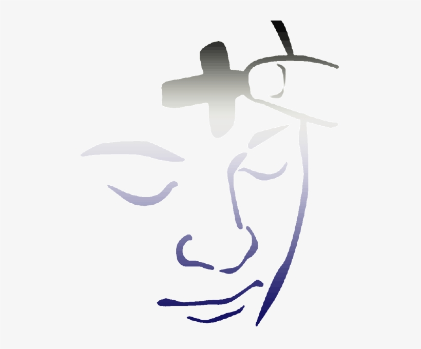 Ash Wednesday Marks Start Of Lent Svg Black And White.