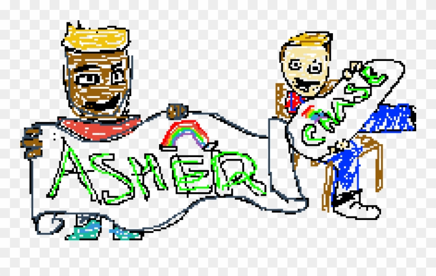 Asher And Chase Clipart (#3340173).