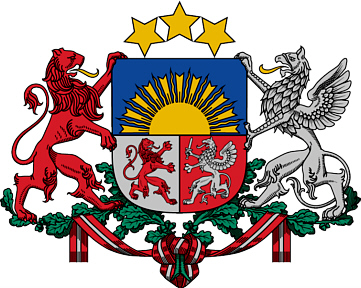 Tribe of Asher = Latvia.
