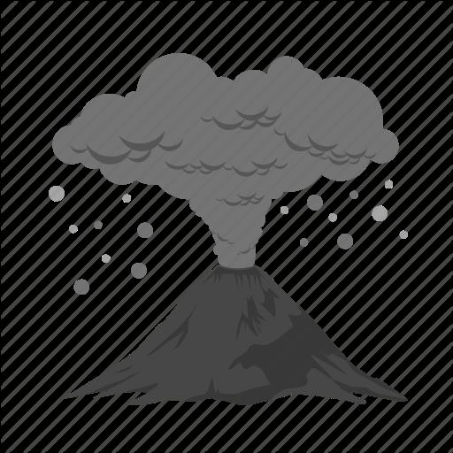 Ash Cloud Clipart.
