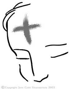 Ashes on the forehead clipart clipart images gallery for.