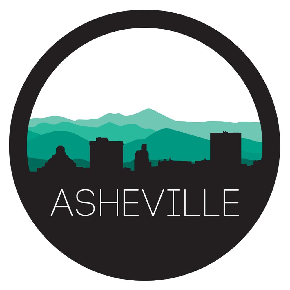 Asheville Circle Skyline.