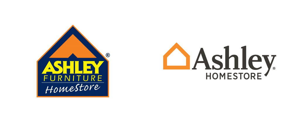 Brand New: New Logo for Ashley HomeStore.