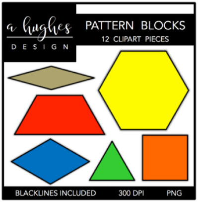 Download Free png Pattern Blocks Clipart {A Hughes Design} by Ashley.