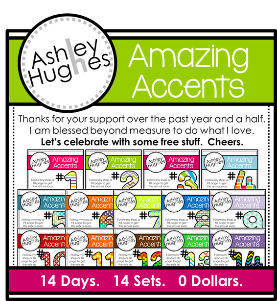 14 days of FREE accent sets! by Ashley Hughes AWESOME!!.