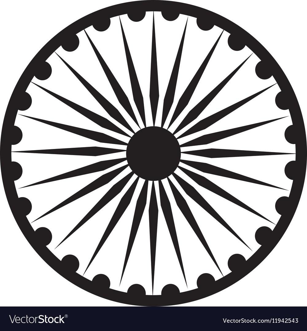 Ashoka chakra clipart 6 » Clipart Portal.