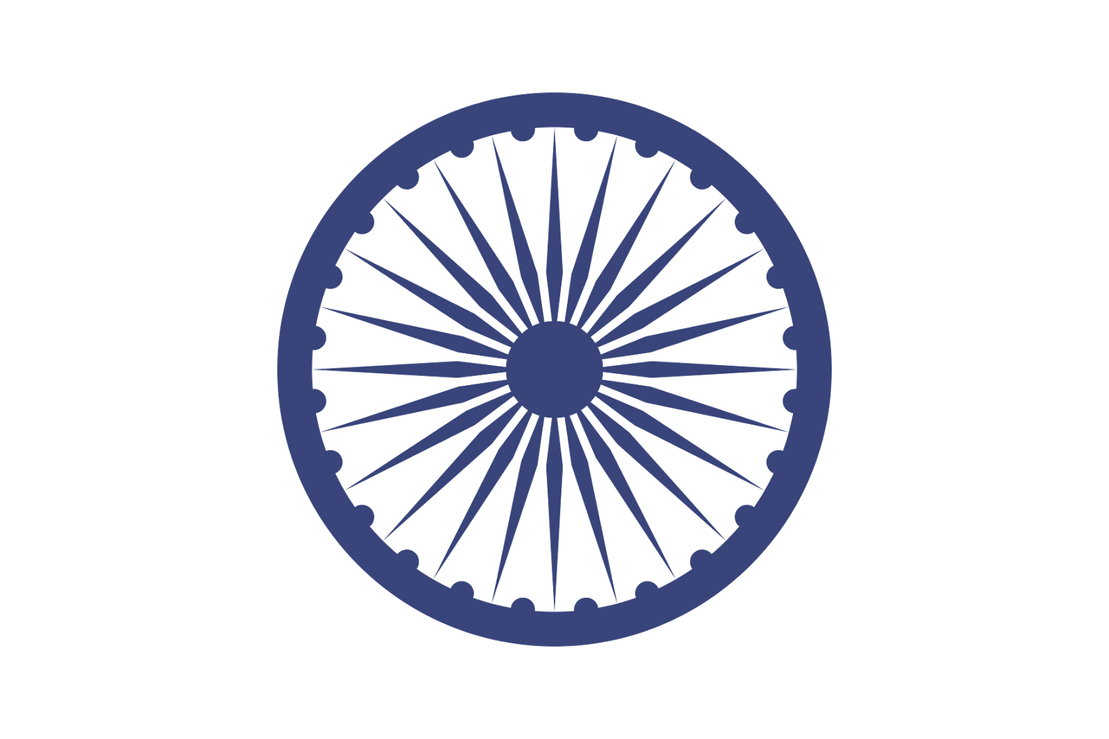 High Resolution Ashoka Chakra Png Icon #46978.
