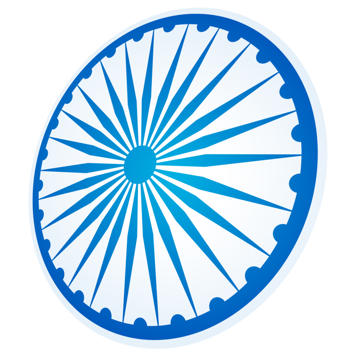 Ashoka Chakra India Transparent PNG Image Free Download searchpng.com.