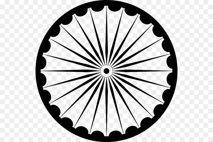 India Flag Wheel png download.