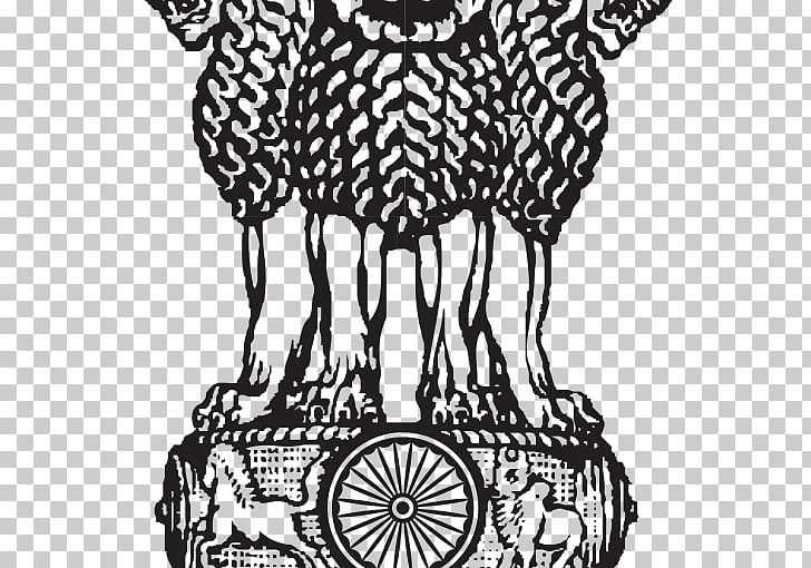 Lion Capital of Ashoka Sarnath State Emblem of India.