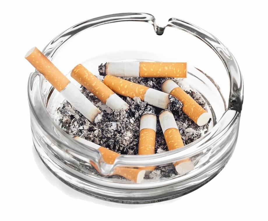 Cigarettes Transparent Ashtray Png Jpg Black And White.