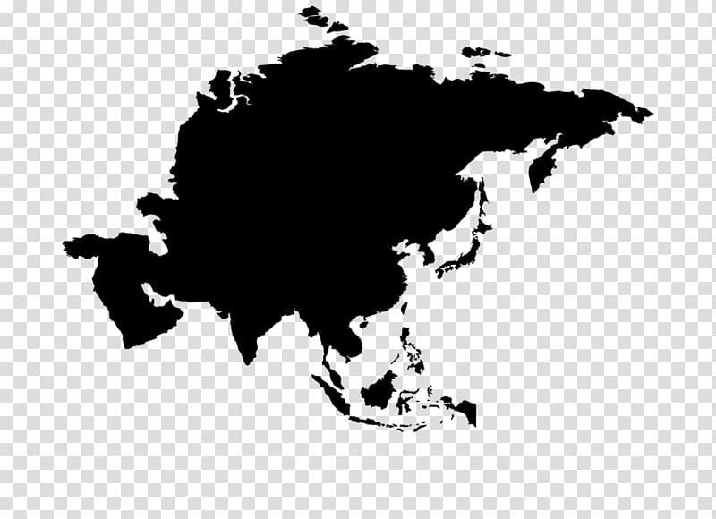 World map Globe Asia, oil stains transparent background PNG.